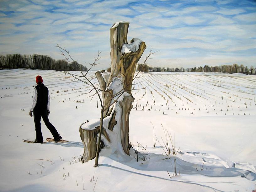 Gayle, Snowshoeing